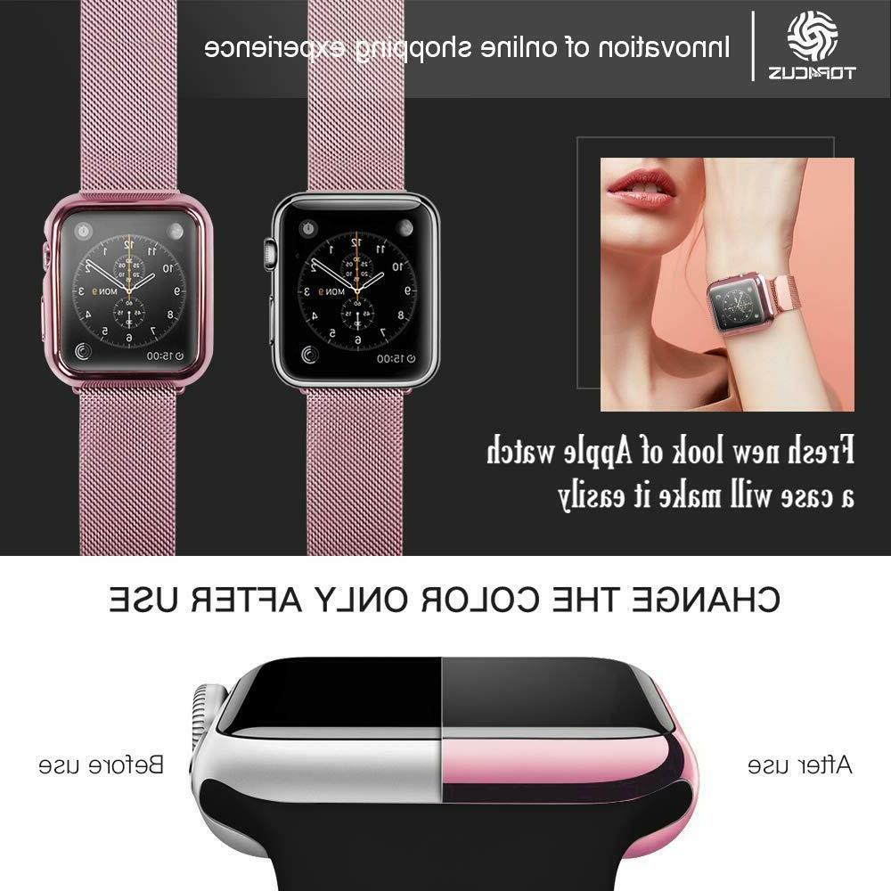 iWatch Protector Snap On Apple Watch Series 4 3 2