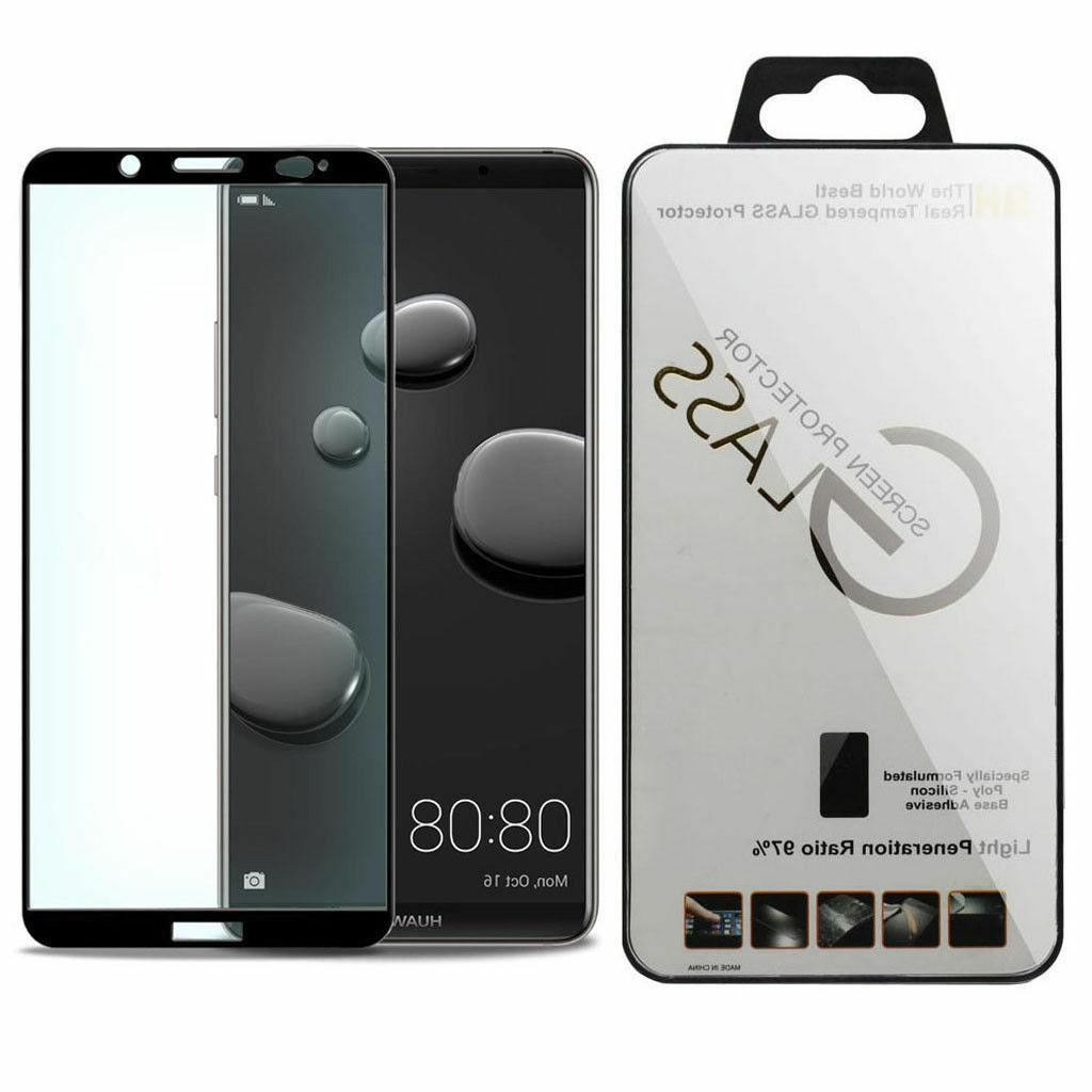 lots black full cover tempered glass screen