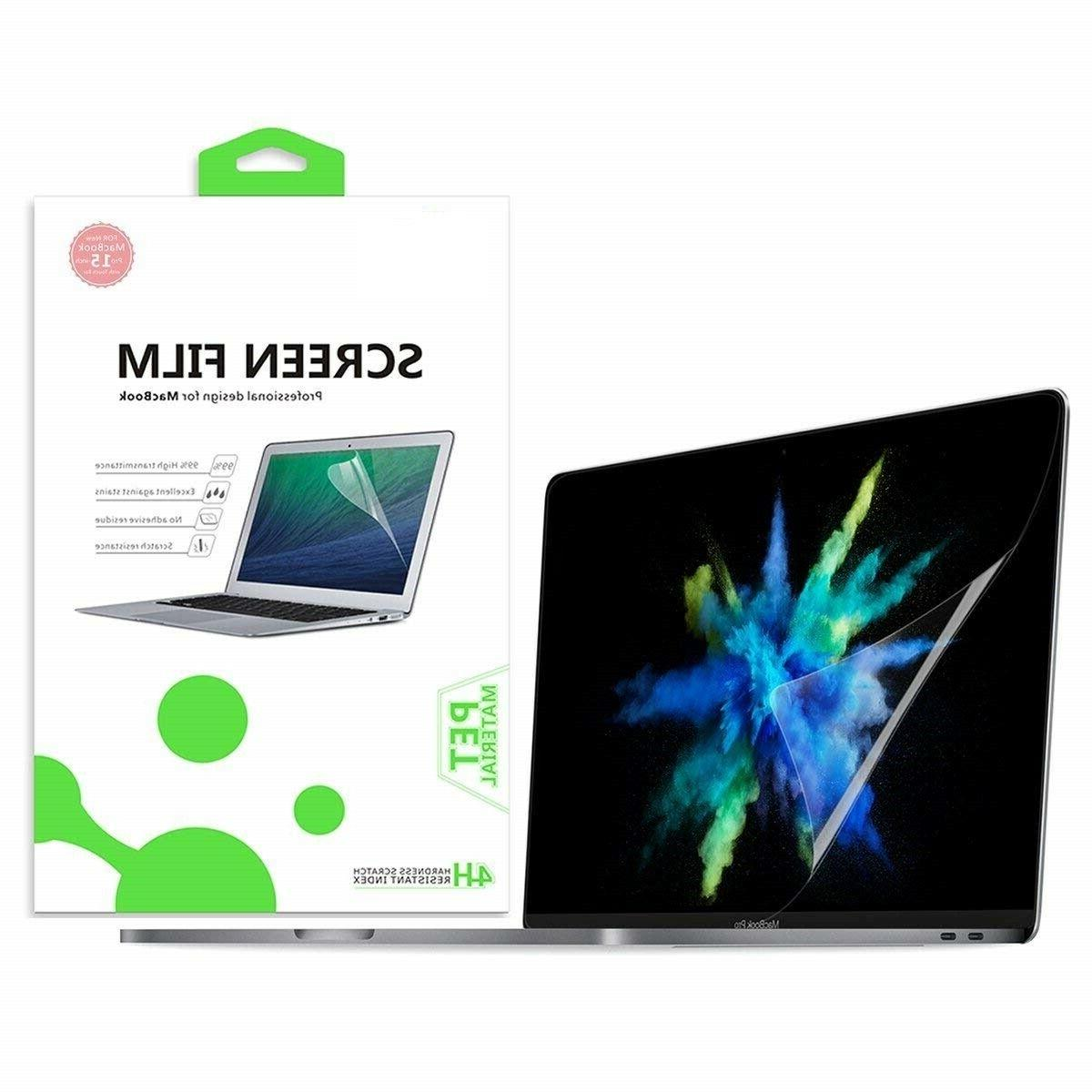 macbook pro 15 screen protector clear real