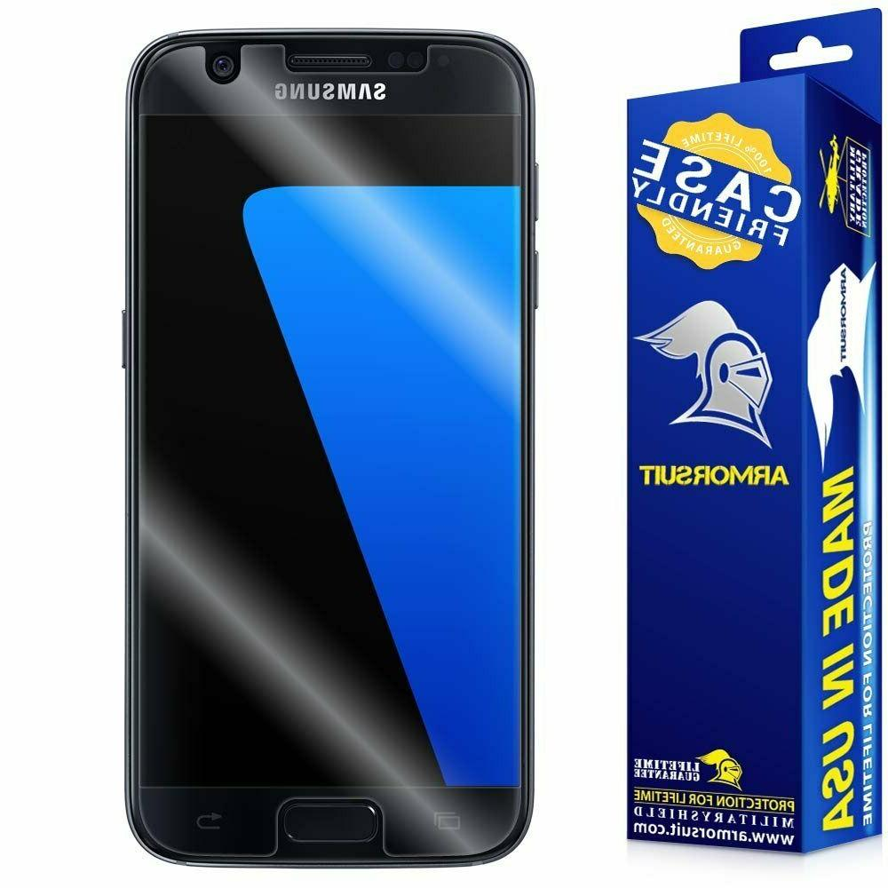 ArmorSuit MilitaryShield - Samsung Galaxy S7 Case Friendly S