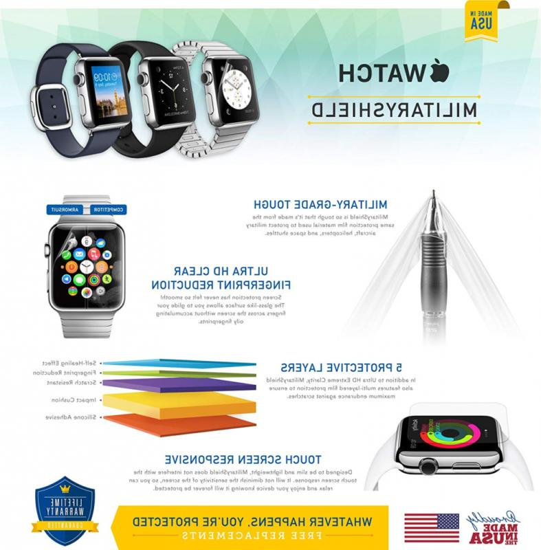ArmorSuit Watch Screen Protector Full Coverage