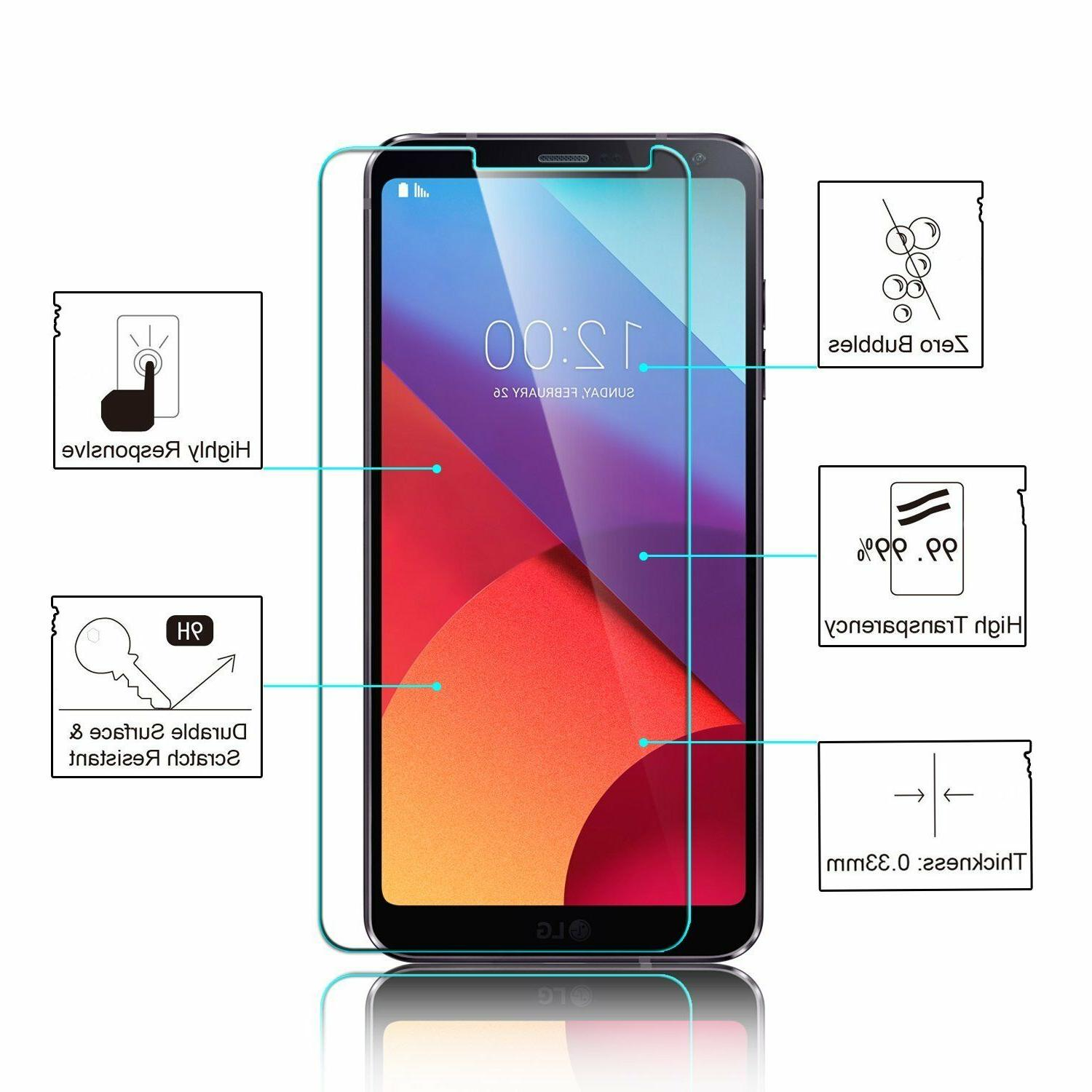 NEW 9H BALLISTIC SCREEN PROTECTOR FOR G6