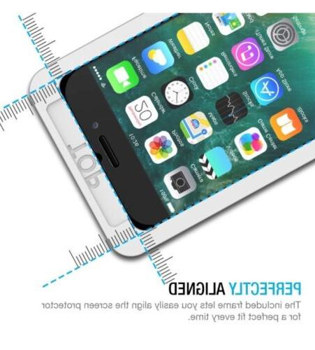NEW TWO iPhone 7 Tempered Glass Screen Protectors