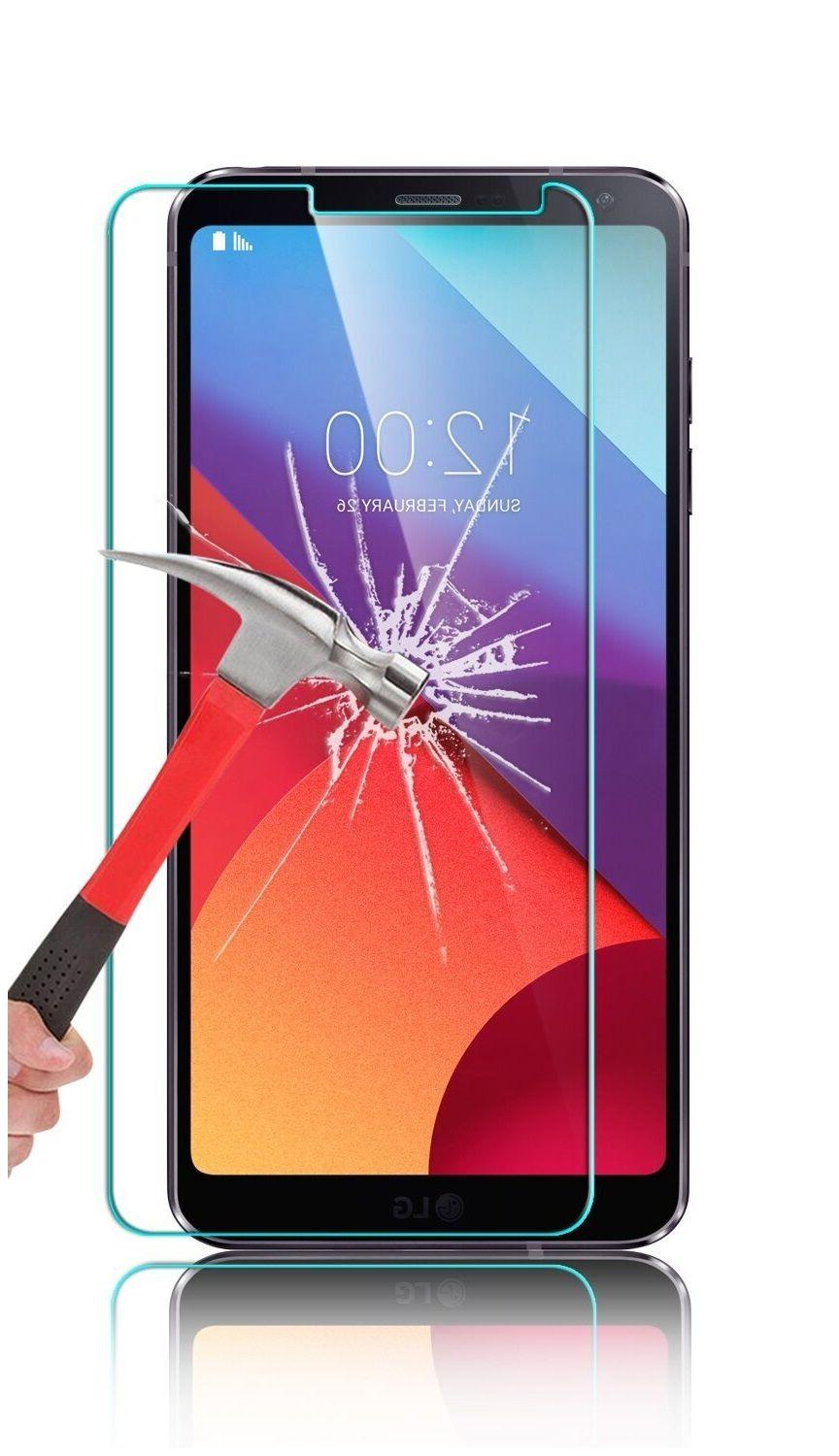 NEW 9H HARD BALLISTIC TEMPERED GLASS SCREEN PROTECTOR FOR G6