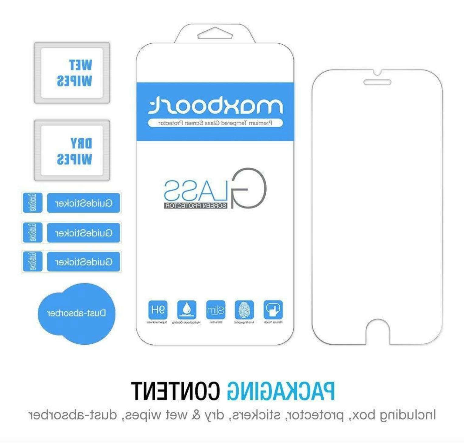 New Maxboost Glass Protector iPhone
