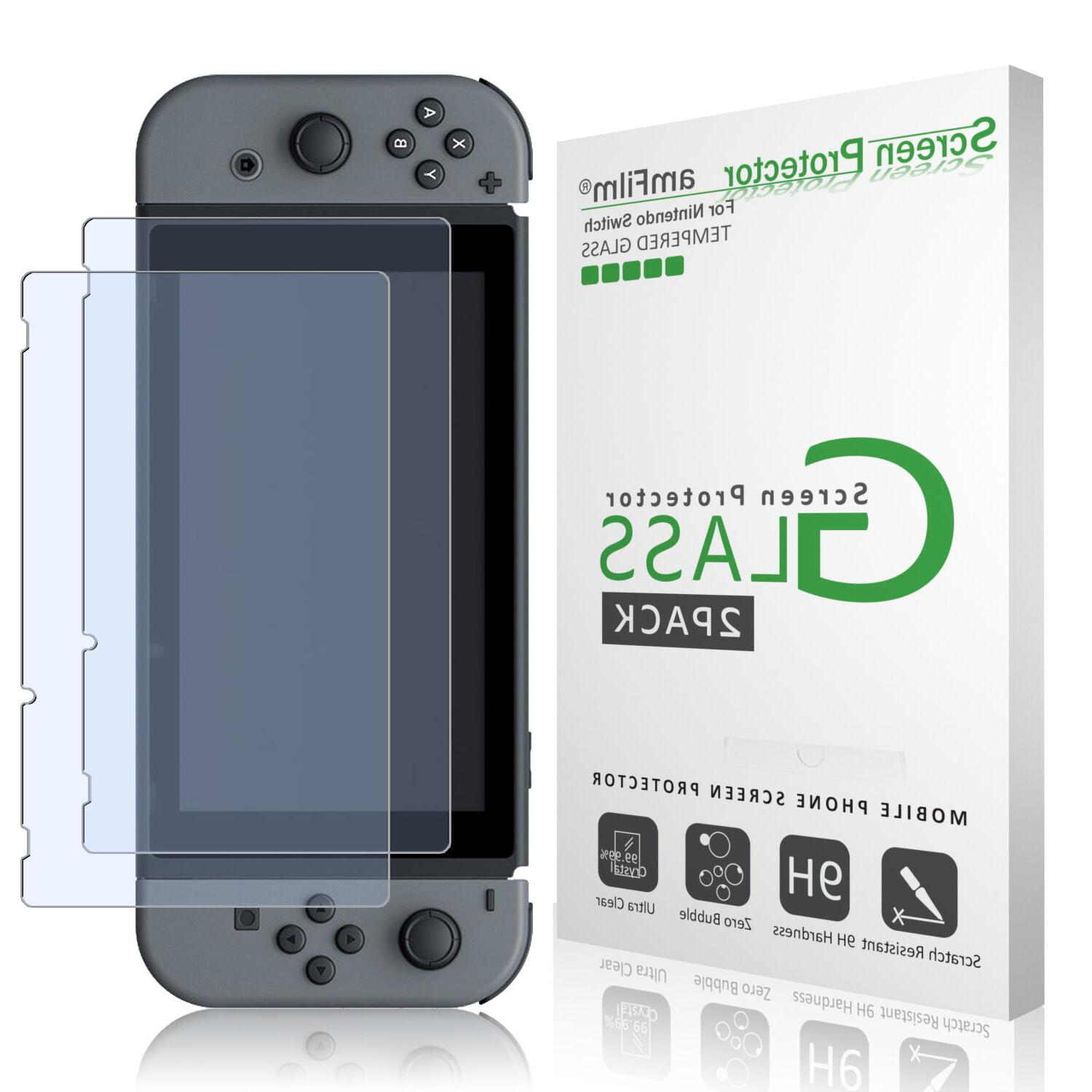nintendo switch premium tempered glass screen protector