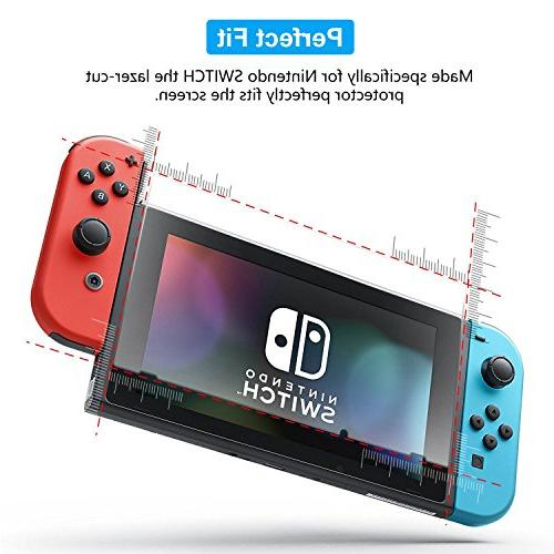 Nintendo Protector Transparent Screen Nintendo Switch, Life Warranty