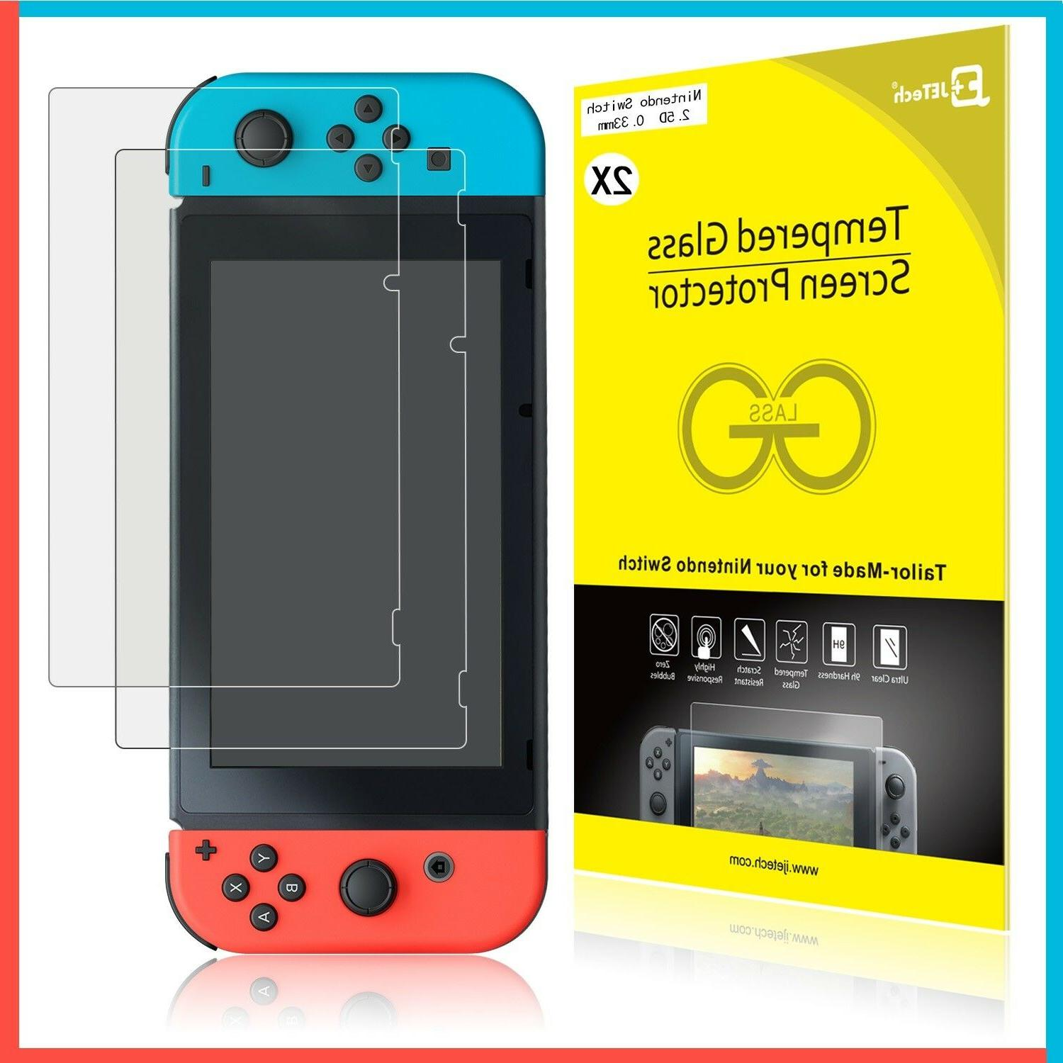nintendo switch tempered glass screen protector hd