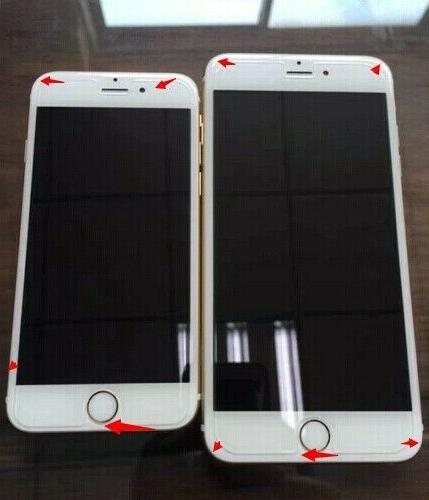Plastic Protector Screen Guard iPhone 7, 10x,