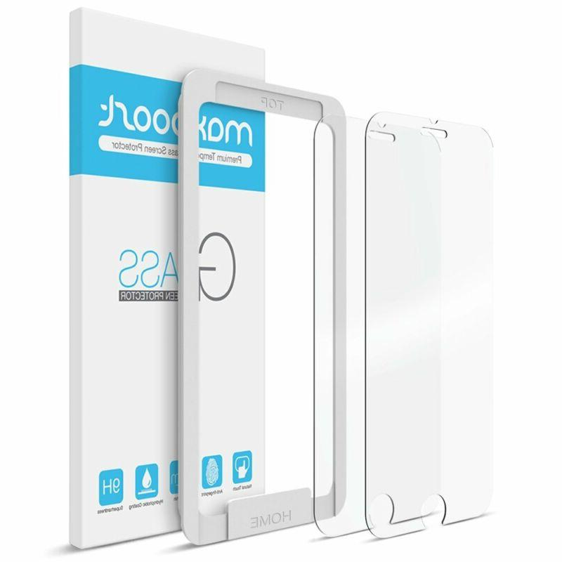 premium 2 pack tempered glass screen protector