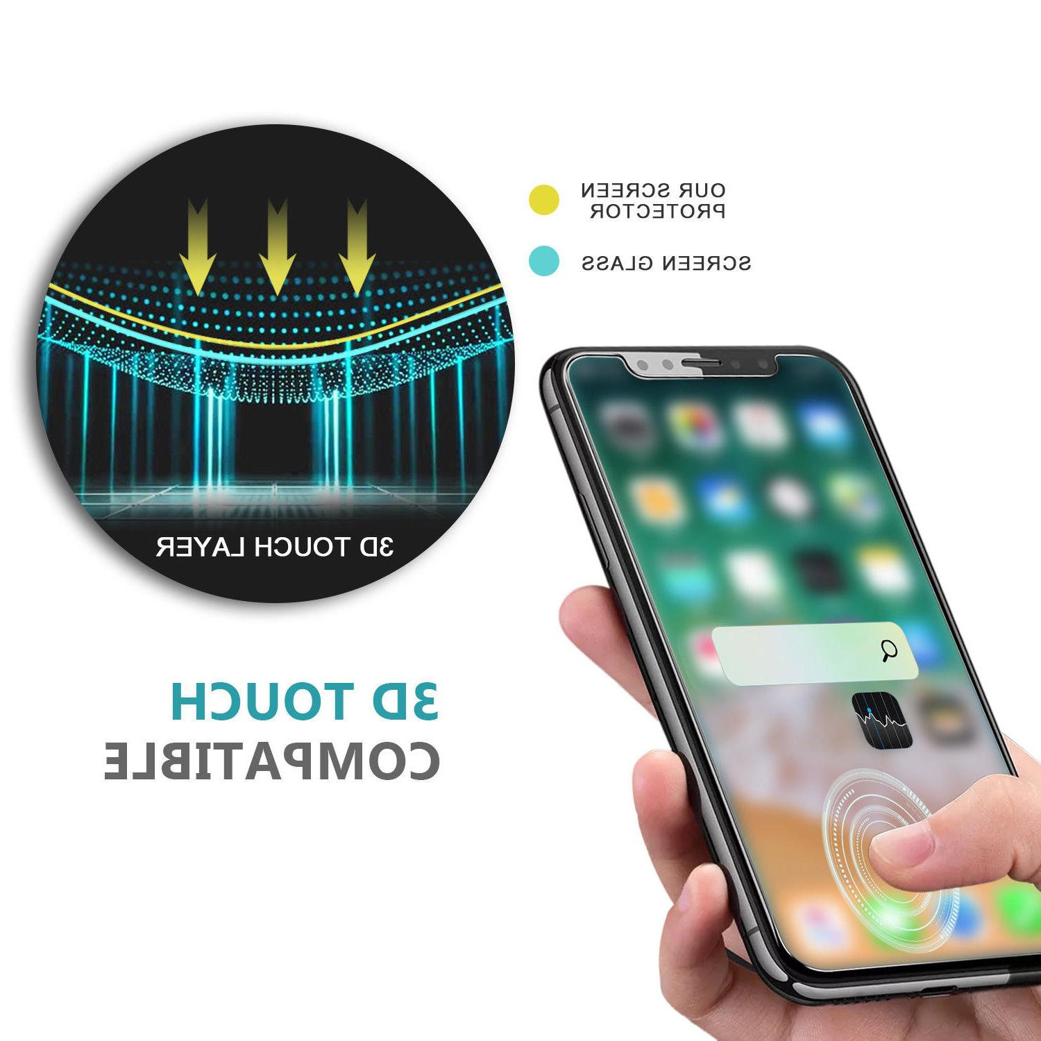 Premium & Back Tempered iPhone X XS Max 8