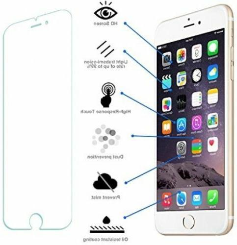 Premium Real Tempered Film iPhone 6 7 8 Plus Xs