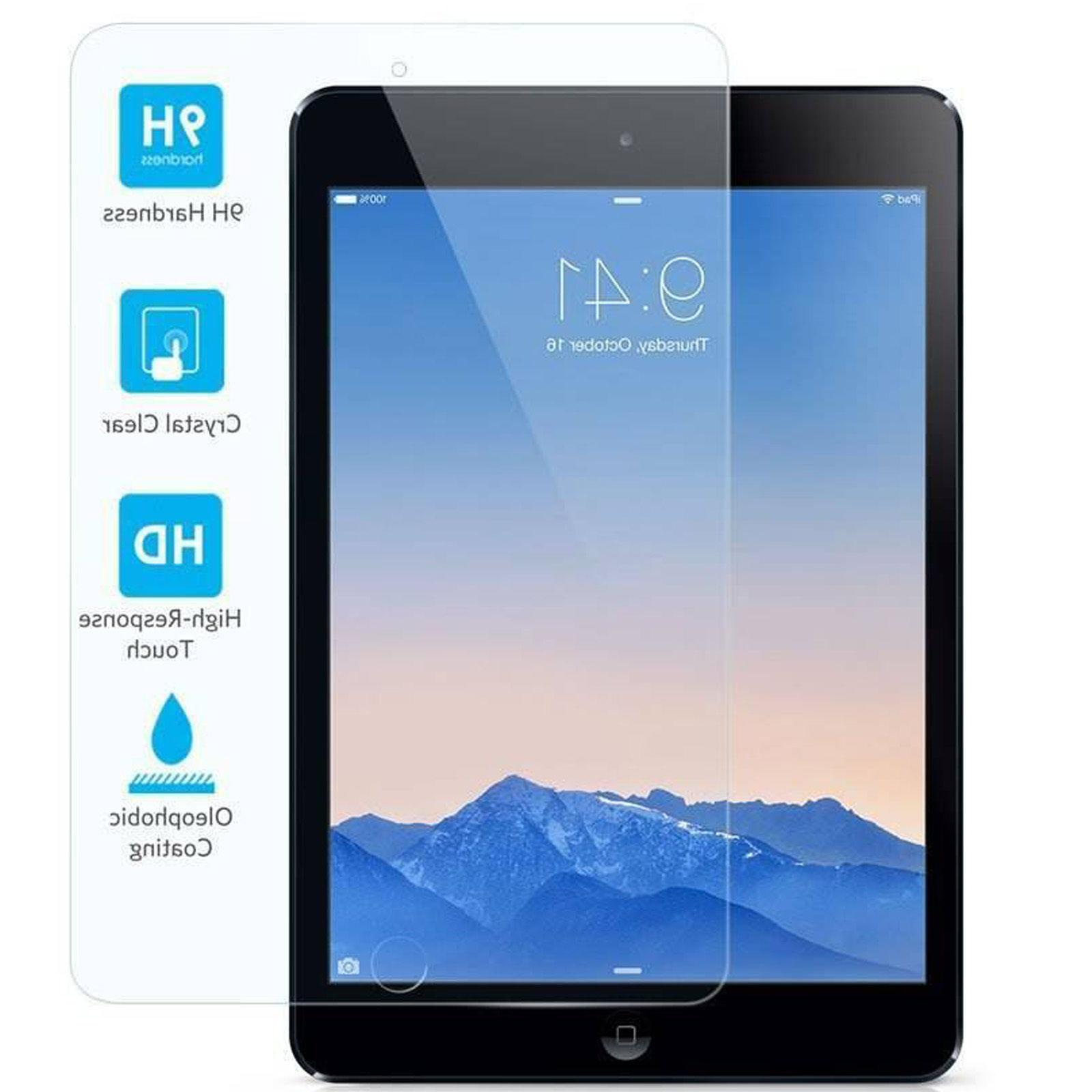 Premium Tempered Glass Screen Protector Film for Apple iPad