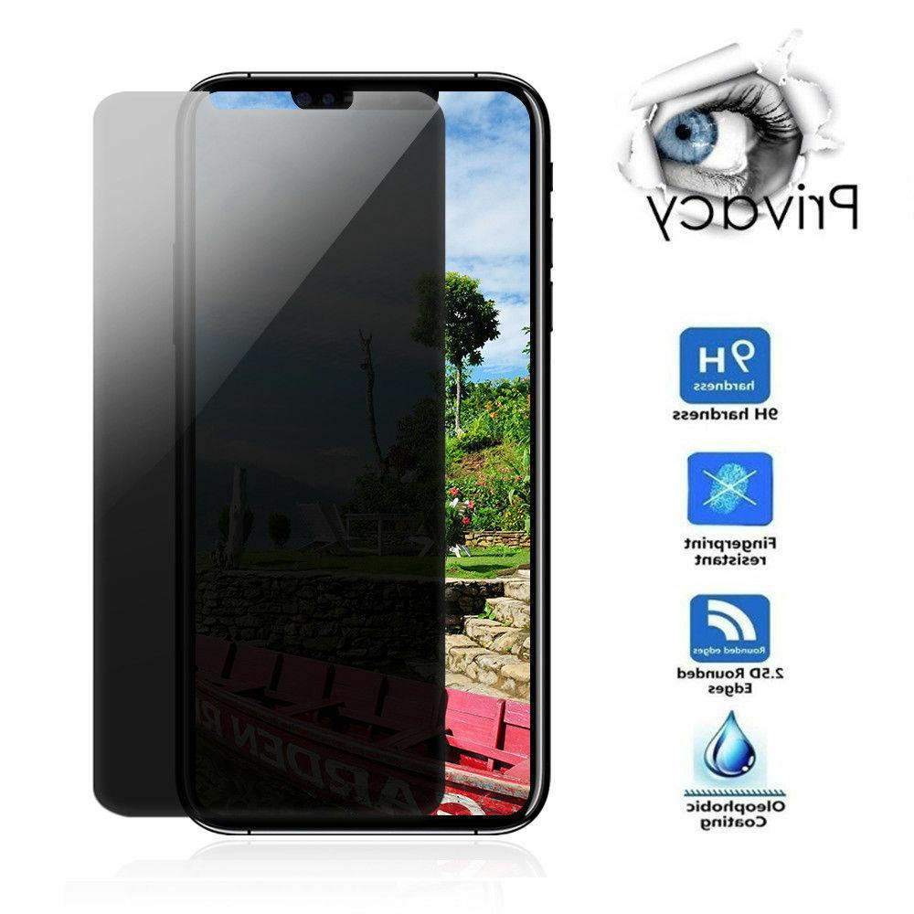 For Apple X 10 Privacy Glass Screen Protector Guard