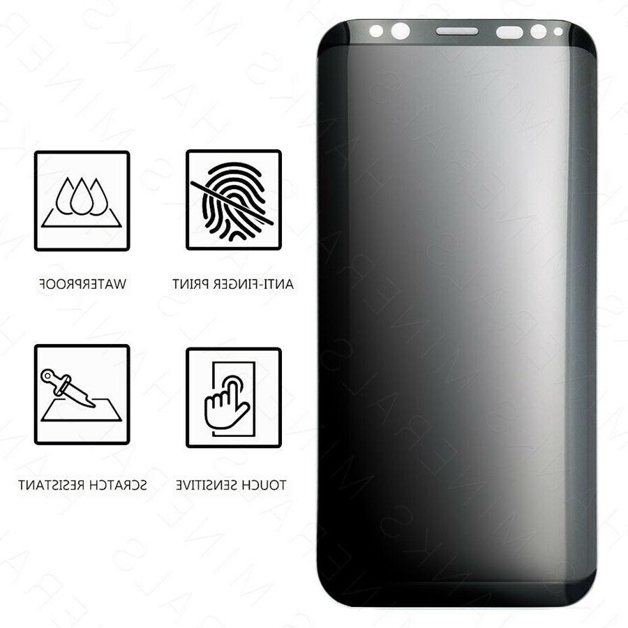 Privacy Anti-Spy Tempered Screen For S8 S9 8
