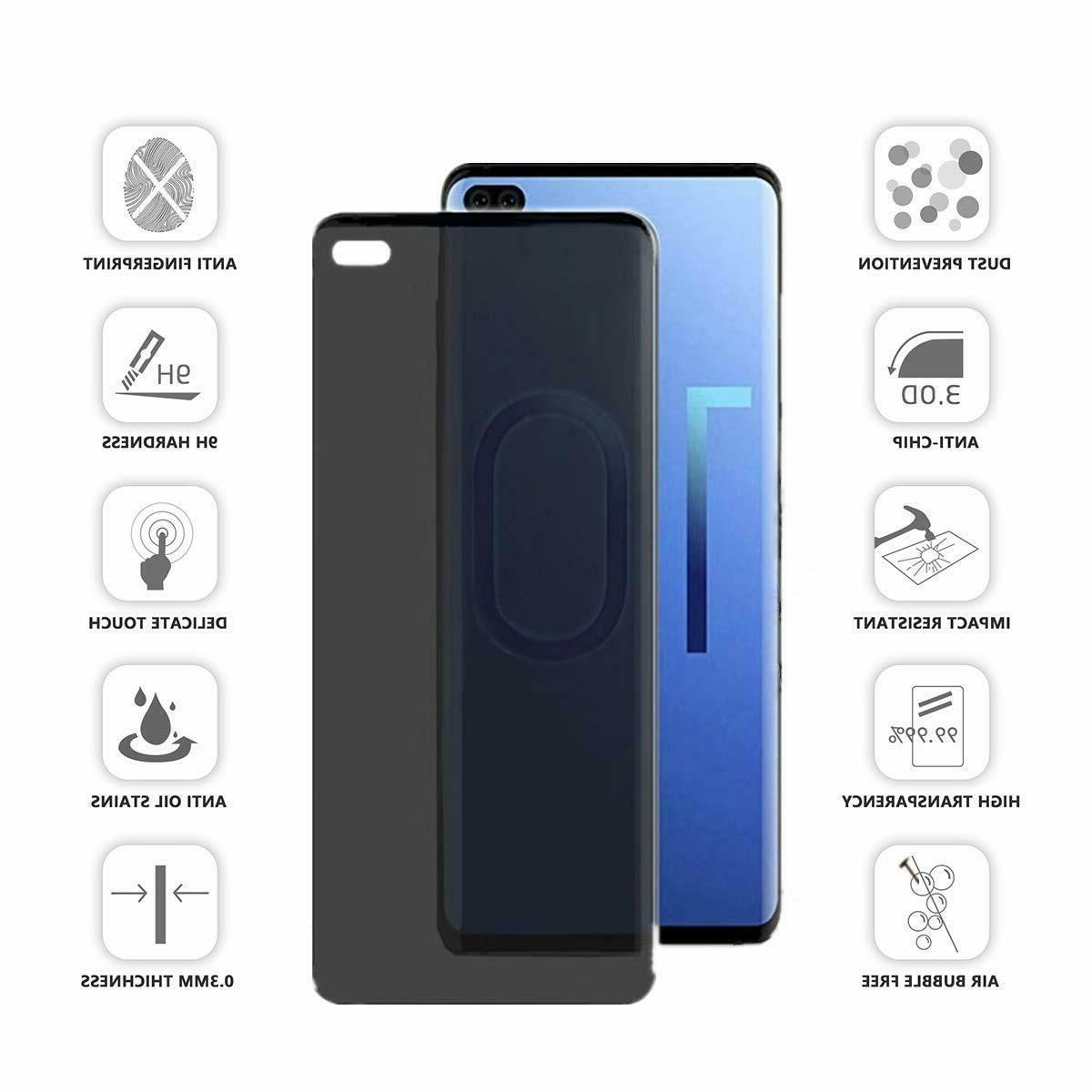 Privacy protector Glass For S10 S10