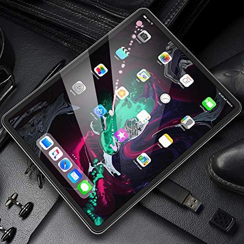 """Maxboost Protector for Apple 2018 Tempered Screen Protector Sensitive Compatible with Pro 2018 11"""""""