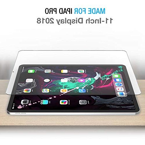 """Maxboost Screen Protector for Apple iPad 2018 Tempered Protector with Advanced Sensitive with Pro 11"""""""