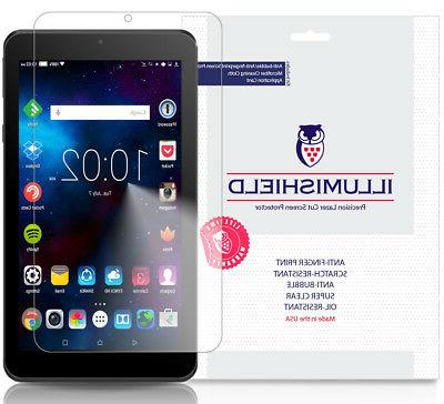 2x iLLumiShield Screen Protector Anti-Bubble for Nook Tablet