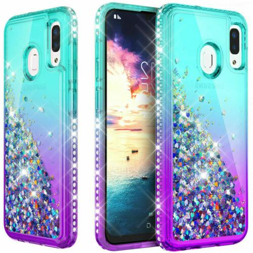 For Galaxy A20S Bumper Case Cover/Screen Protector