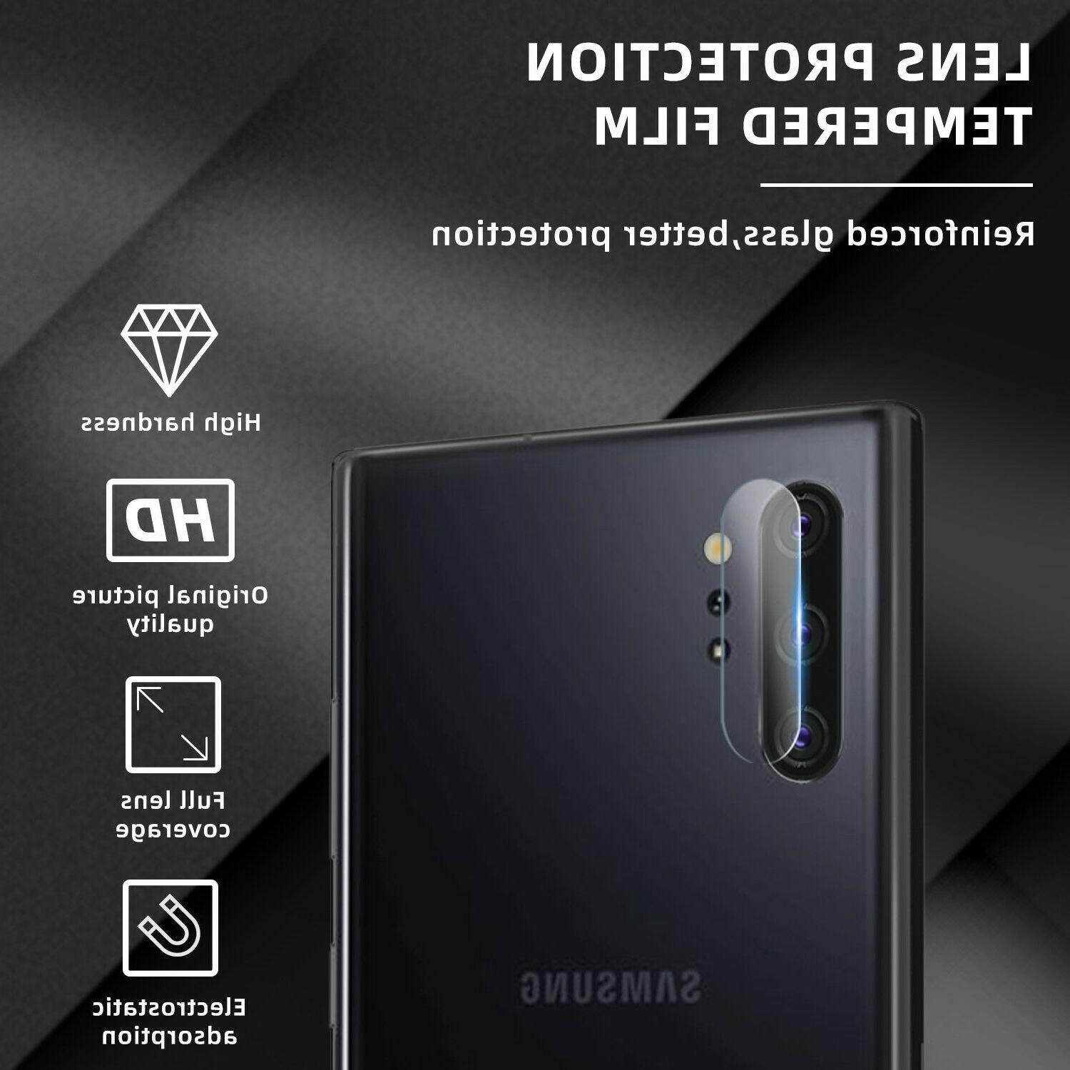 For Samsung Galaxy 10 Plus Fingerprint Screen Protector Camera Film