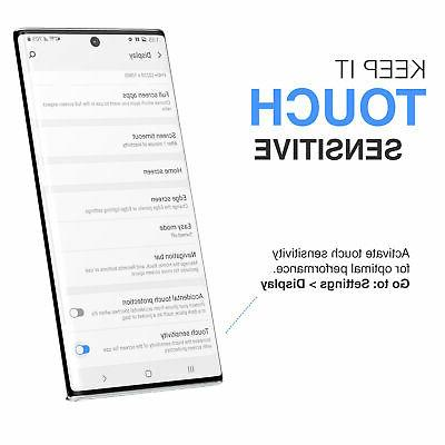 Samsung Plus Tempered Protector Screen Finger