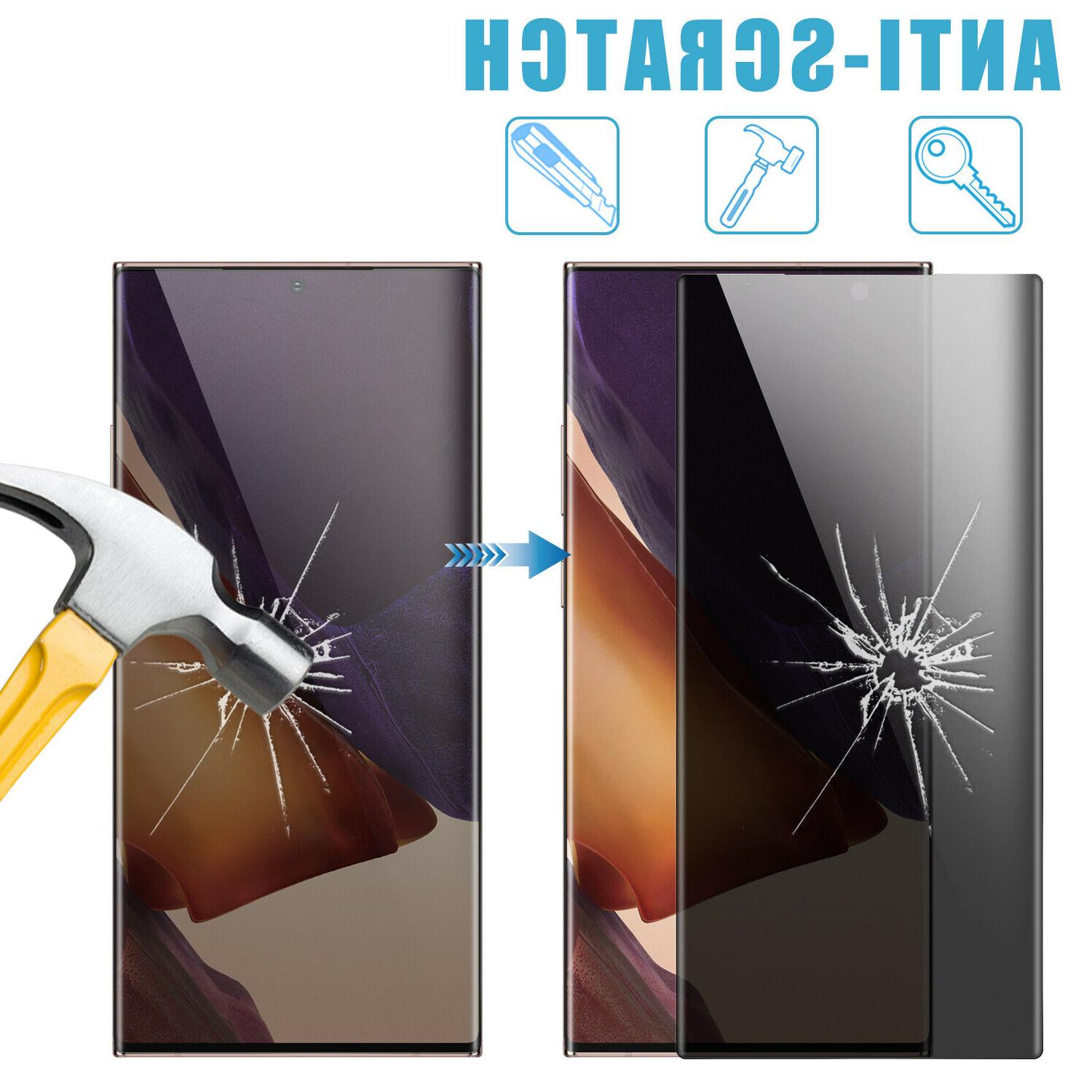 For Samsung Galaxy Ultra Anti-Spy Glass Protector