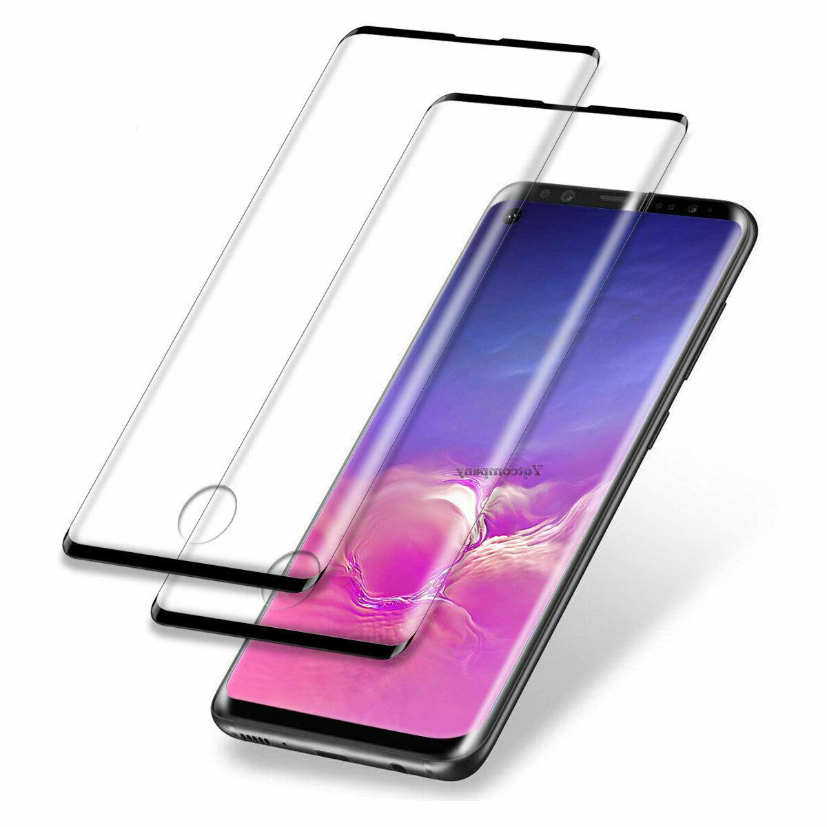 Samsung 10+/S10e Full Cover Tempered Glass