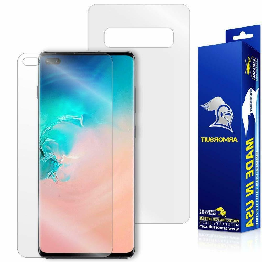 samsung galaxy s10 plus screen protector full