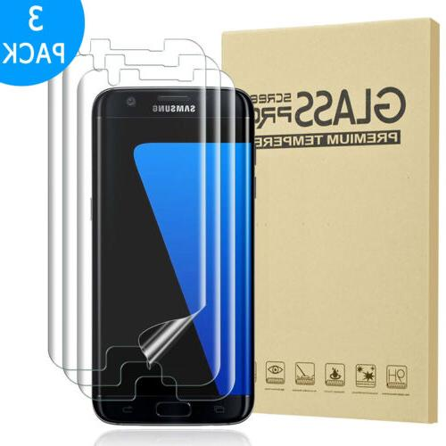 For S7 Full Cover Tempered Glass Protector