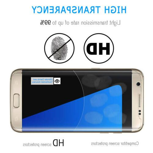 For Galaxy S7 Edge Full Tempered Protector