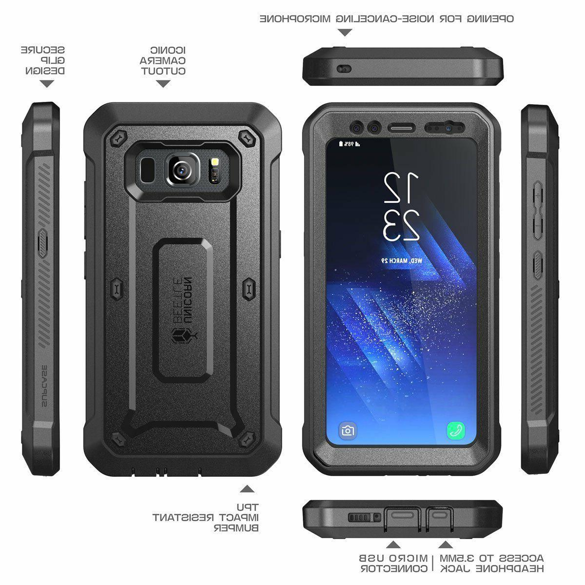 For Samsung Galaxy S8 ACTIVE Case SUPCASE Cover With