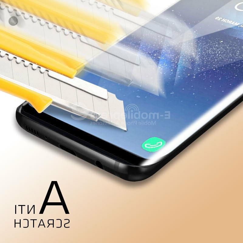 For Samsung S8 Clear Full Tempered