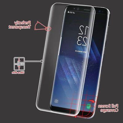 Samsung Galaxy S8/S9/Plus Curved FULL COVERAGE Screen Protec