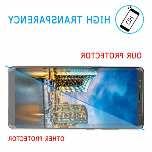 For S8+ 8 Full Cover Glass