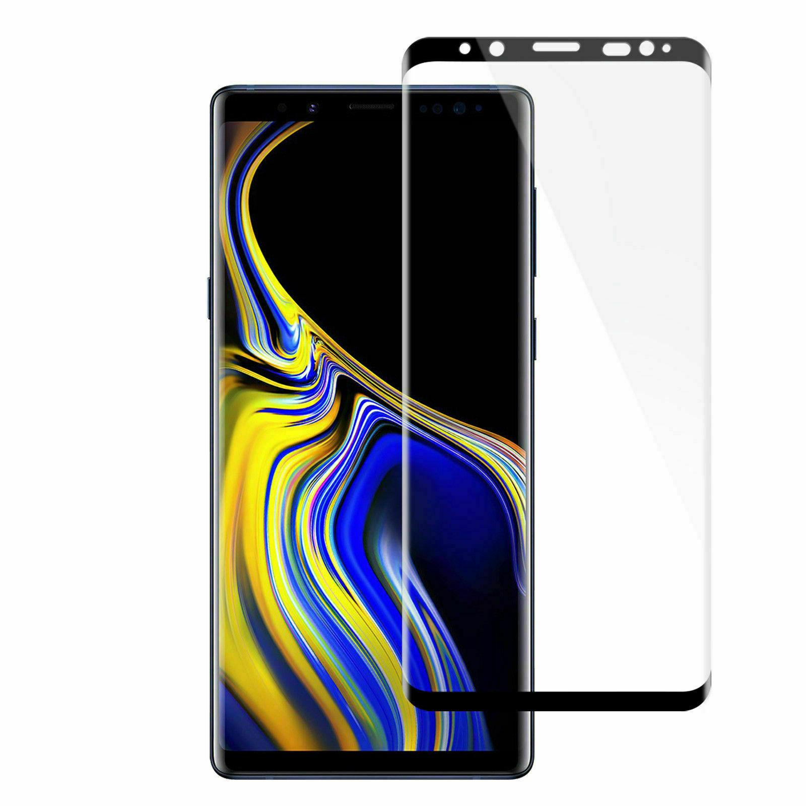 Samsung Plus 8 4D Full Cover Glass Screen