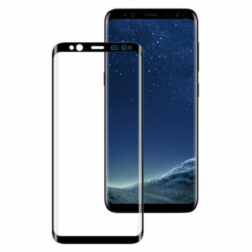 Samsung Galaxy S9 Plus Note 8 4D Full Cover Tempered Screen Protector