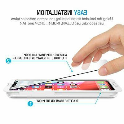 Maxboost for iPhone Xs & (Clear, 3 Pa