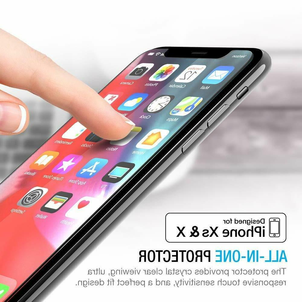 3-Pack Glass Screen iPhone X, XS 3D Touch