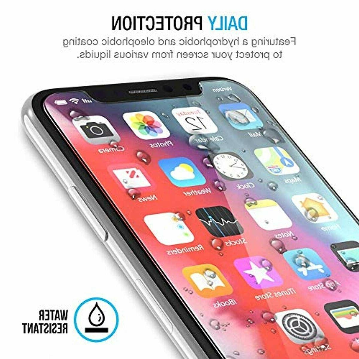 Tempered Glass for Apple iPhone Xs iPhone X