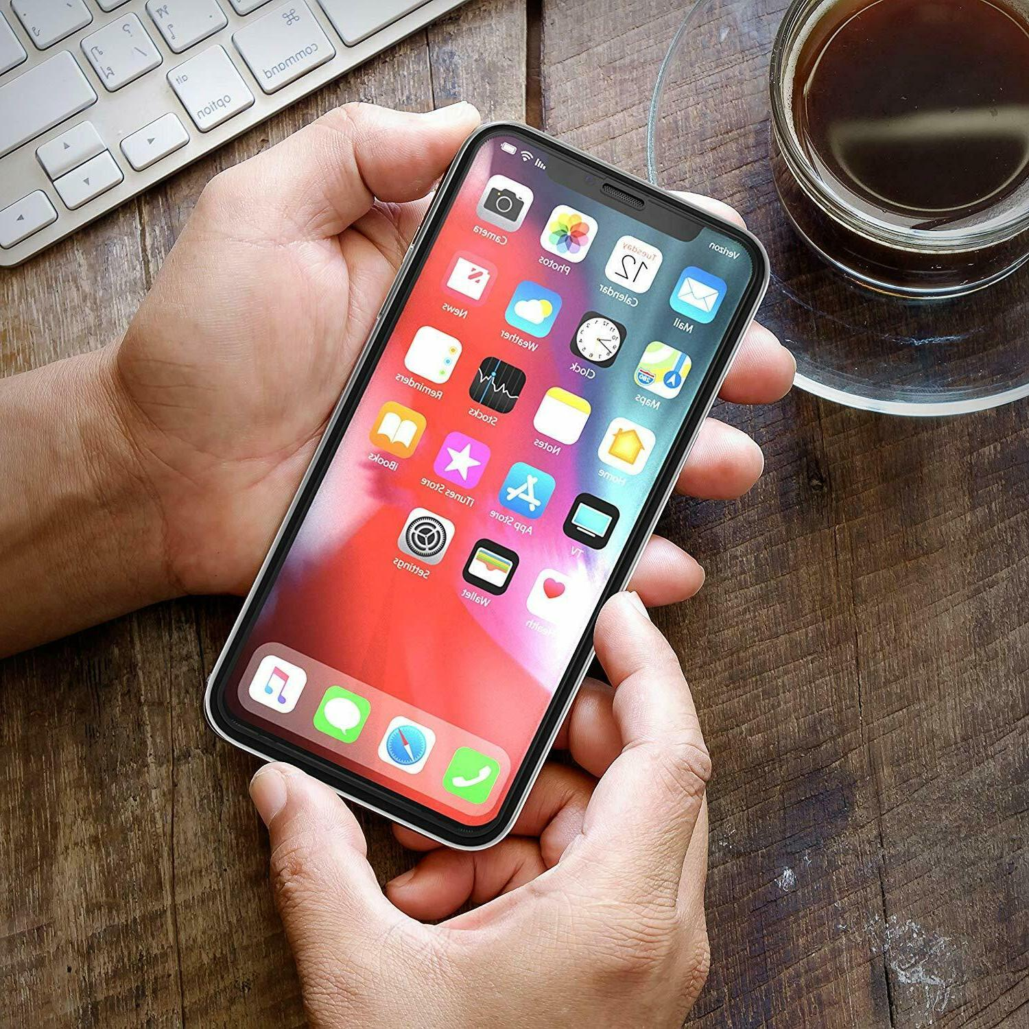 3-Pack Tempered iPhone X, XS 3D Touch