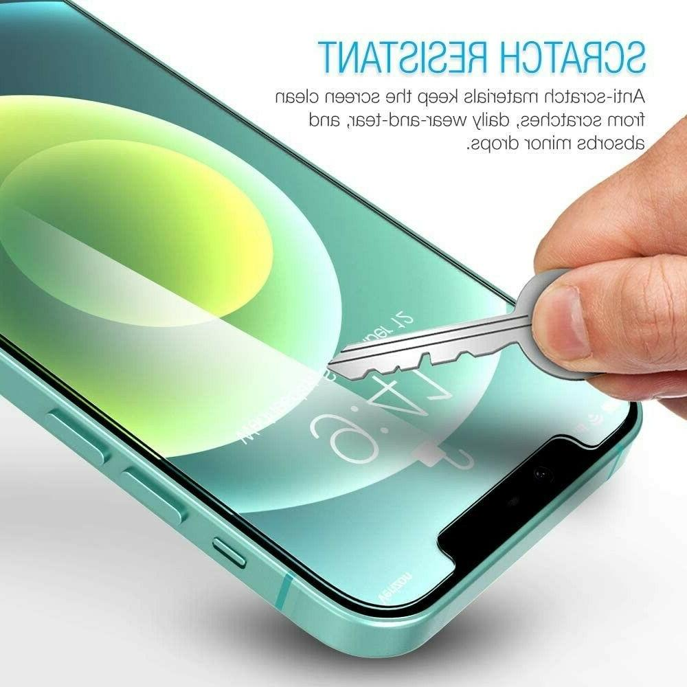 Maxboost Protector Compatible for Iphone 12 Mini Screen Protector - Pak