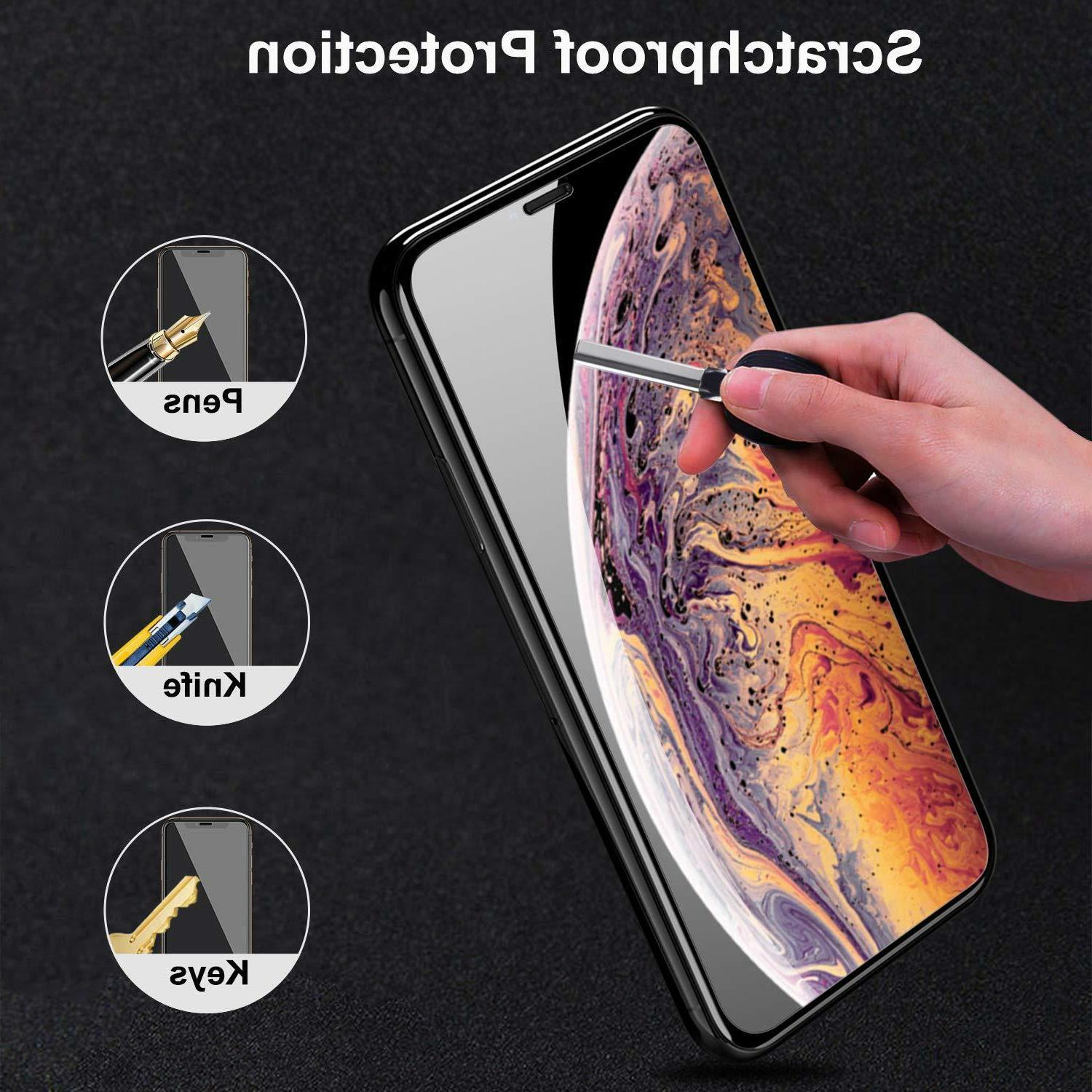Screen Protector for Apple iPhone Xs Tempered Film,