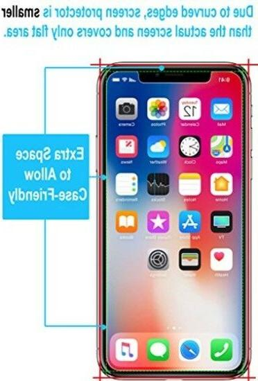 TEMPERED GLASS IPHONE / XS SCREEN Cover Kit