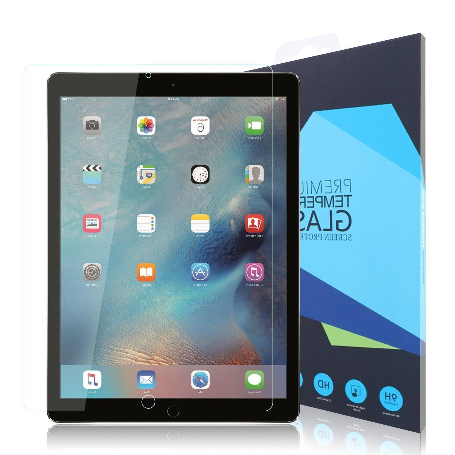 Premium Tempered Glass Screen Protector for Apple iPad Pro 1