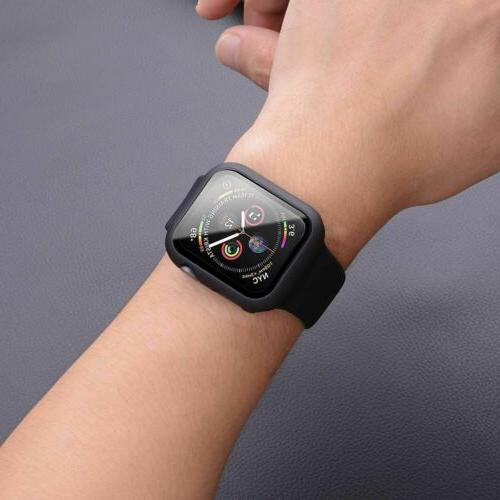 Tempered Protector + Case iWatch Apple
