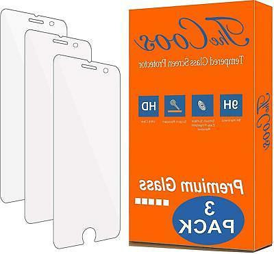 Tempered Glass Screen Protector 3 Pack TheCoos For Apple IPh