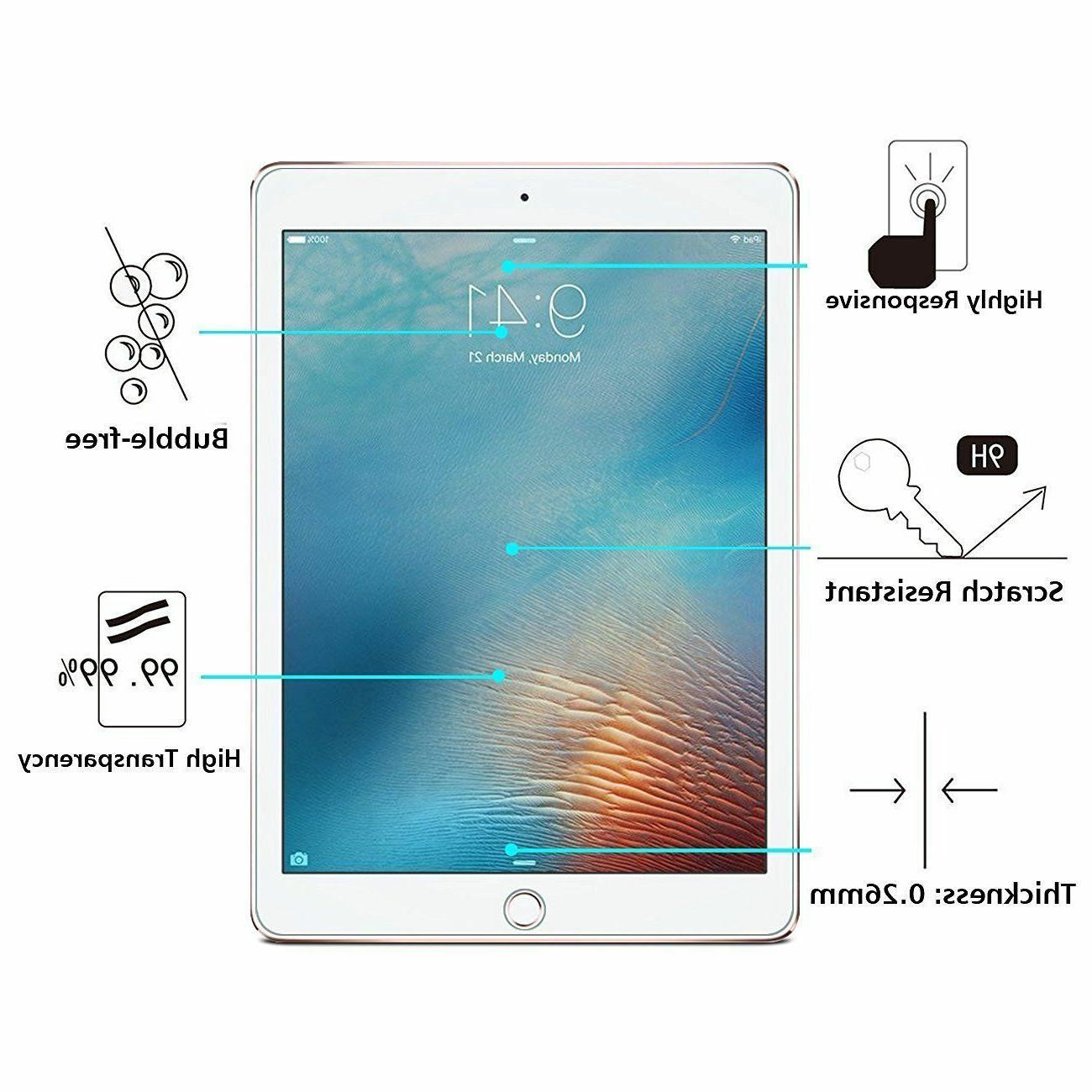Tempered Glass For Apple 3 4 Air