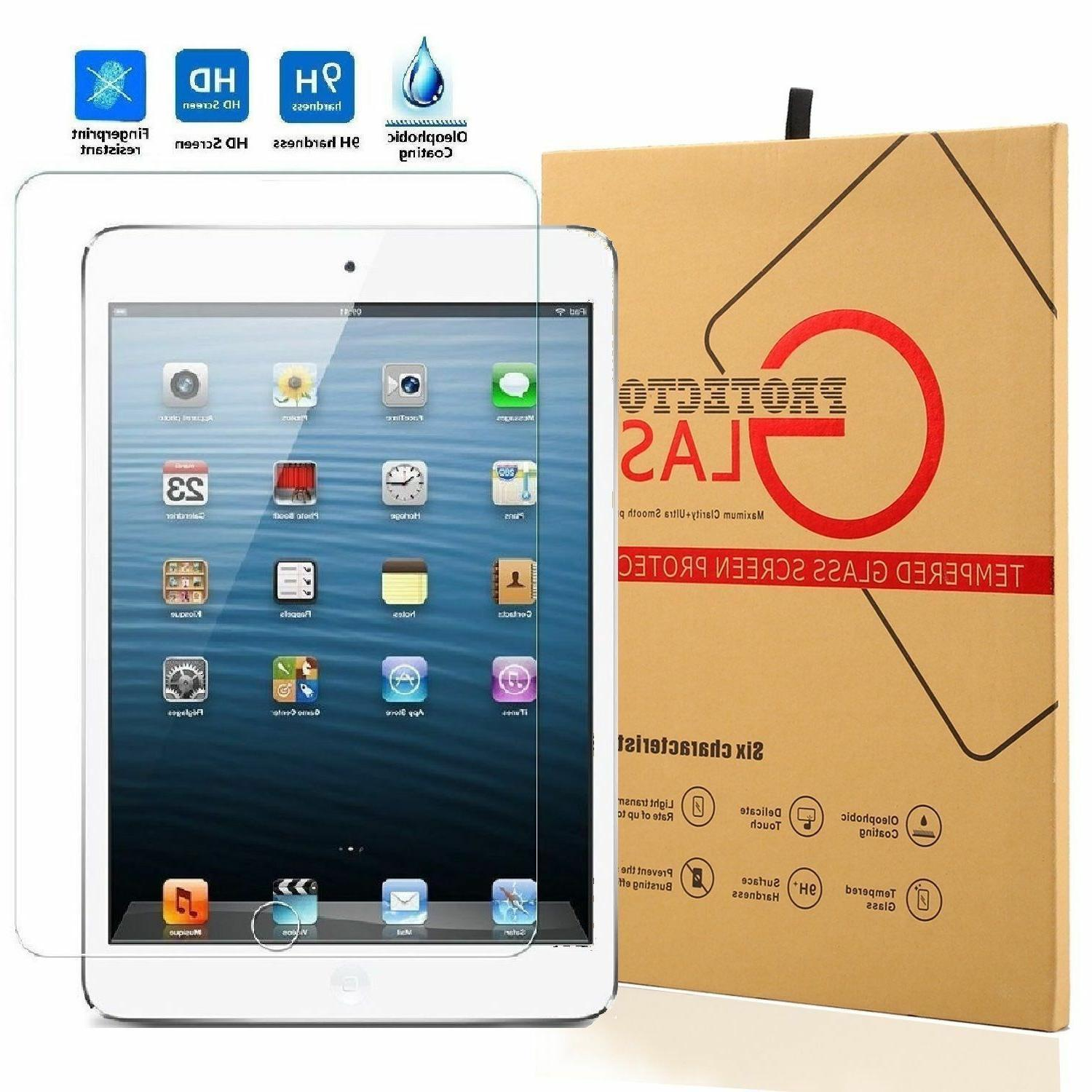 Tempered Glass Screen For iPad 3 4 Air Pro Mini iPhone