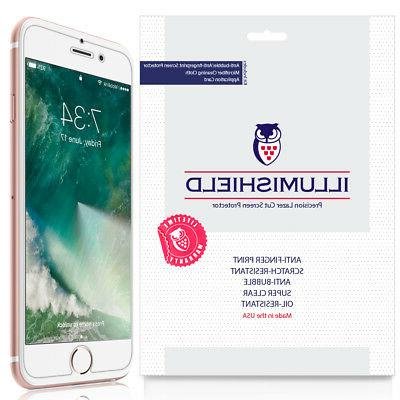 iLLumiShield 3-Pack Ultra Clear HD iPhone 7 Screen Protector